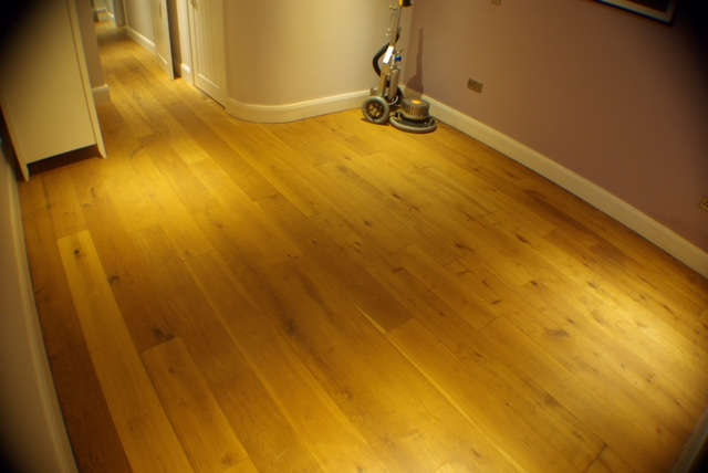 An Engineered Oak Wood Floor from Dark to Light as possible!